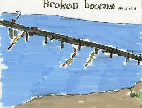 broken booms